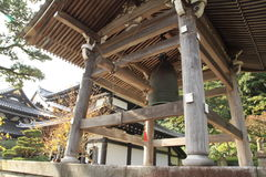 Hasedera, Shoro belfry in Kamakura Royalty Free Stock Images