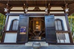 Hasedera tempel i Kamakura Arkivfoton