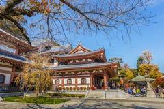 Hasedera tempel i Kamakura Arkivfoto