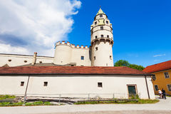Hasegg Castle, Hall in Tirol. Hasegg Castle or Burg Hasegg is a castle and mint located in Hall in Tirol, Tyrol region of Austria Royalty Free Stock Image