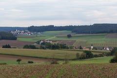 Haselbach bredvid Schwandorf Schwandorf i bavaria Arkivbilder