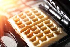Hash - brązy robić w gofra producenta kuchennym kilofie Zdjęcie Royalty Free