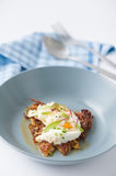 Hash brown with cheese Stock Photography