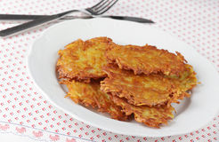 Hash browns Royalty Free Stock Photos