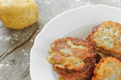 Hash browns Royalty Free Stock Image