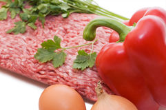 Hash and ingredients Royalty Free Stock Photography