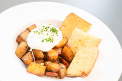 Hash potato Royalty Free Stock Image