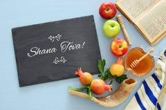 Hashanah Rosh & x28; еврейское holiday& x29 Нового Года; концепция Стоковая Фотография