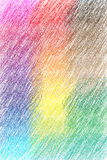 Hashed background. Hashed, colored background with crayon Stock Photos