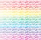 Hashed wavy background. Wavy background hashed with crayon Stock Photo