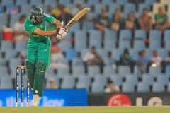 Hashim Amla南非板球运动员 库存照片