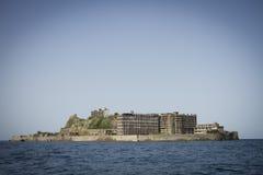 Hashima-Insel Stockfotos