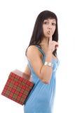 Hashing da mulher Imagem de Stock Royalty Free