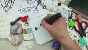 Hashtag δημιουργικό και εργασιακός χώρος φιλμ μικρού μήκους