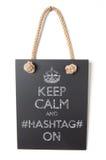 Hashtag Fotografia Stock