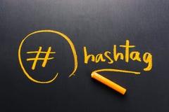 Hashtag Fotografia Stock Libera da Diritti