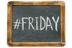 Hashtag de vendredi image libre de droits