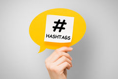 Hashtag post viral web network media tag business. Hashtag post viral web network media tag marketing trending speech bubble blogging blog website strategy Royalty Free Stock Images