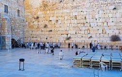 The Hasidic pray Royalty Free Stock Photo