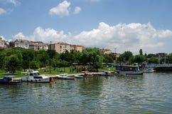 Haskoy-Park, Istanbul Lizenzfreie Stockfotos
