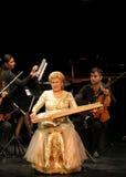 Hasmik Leyloyan utför, Oktober 01 2012, Bahrain Royaltyfria Foton