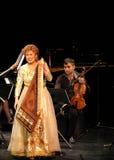 Hasmik Leyloyan utför, Oktober 01 2012, Bahrain Arkivbilder