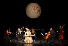 Hasmik Leyloyan wykonuje, Październik 01 2012, Bahrajn Obraz Royalty Free