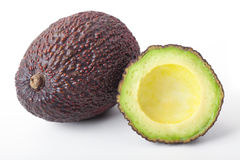 Hass-Avocado scuro Fotografia Stock