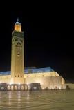 Hassan ΙΙ μουσουλμανικό τέμενος Στοκ φωτογραφία με δικαίωμα ελεύθερης χρήσης