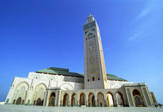 Hassan ΙΙ μουσουλμανικό τέμενος Στοκ εικόνα με δικαίωμα ελεύθερης χρήσης