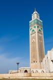 Hassan ΙΙ μουσουλμανικό τέμεν&o Στοκ Εικόνες