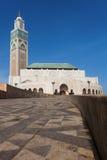 Hassan ΙΙ μουσουλμανικό τέμεν&o Στοκ φωτογραφία με δικαίωμα ελεύθερης χρήσης