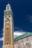 Hassan ΙΙ μουσουλμανικό τέμεν&o Στοκ φωτογραφίες με δικαίωμα ελεύθερης χρήσης