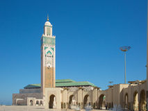 Hassan ΙΙ μουσουλμανικό τέμενος βασιλιάδων Στοκ Εικόνες
