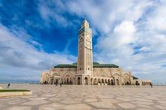 Hassan ΙΙ μουσουλμανικό τέμεν&o Στοκ Εικόνα