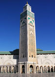 Hassan the 2nd mosque Morocco. Casablanca, africa Royalty Free Stock Photo