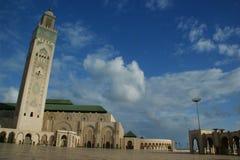 Hassan II em Casablanca Fotografia de Stock Royalty Free