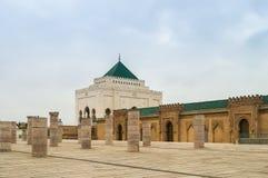 Hassan II Mausoleum Stock Images