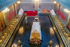 Hassan II Mausoleum. Tomb of Hassan II in Rabat, Morocco Stock Photography