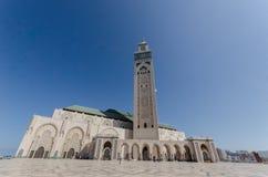 Hassan II meczet, Casablanca Zdjęcie Royalty Free