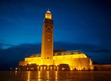 Hassan II meczet w Casablanca, Maroko Afryka Obrazy Stock