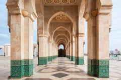 hassan ii meczetu zdjęcie stock