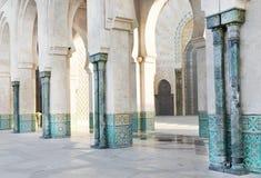 hassan ii meczetu Zdjęcie Royalty Free
