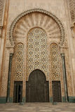 hassan ii meczetu Fotografia Royalty Free