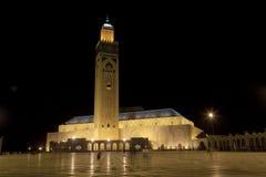 hassan ii moské Royaltyfri Foto