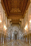 hassan ii moské Royaltyfri Fotografi
