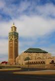 Hassan II moské Arkivfoto