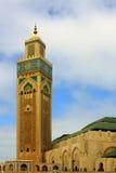 Hassan II moské royaltyfri bild