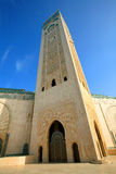 hassan ii moské Arkivfoton