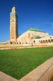 hassan ii moské Royaltyfria Foton